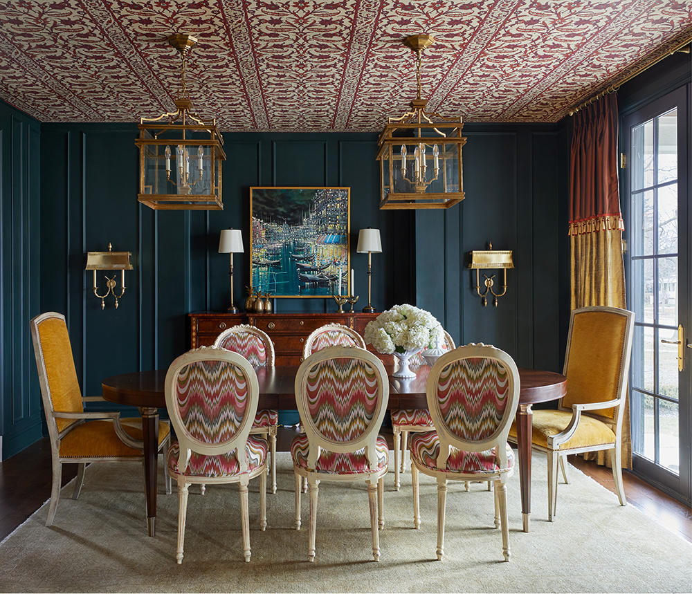 A dining room by Jenkins from Design Remix