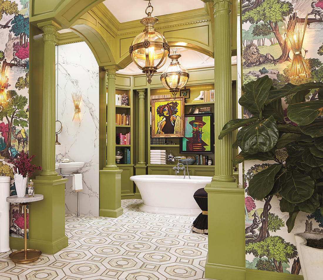 A bathroom from Design Remix