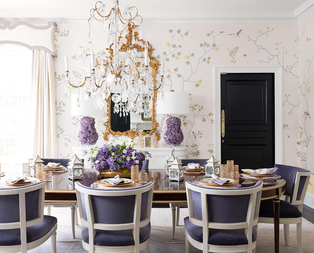 A dining room from Inviting Interiors