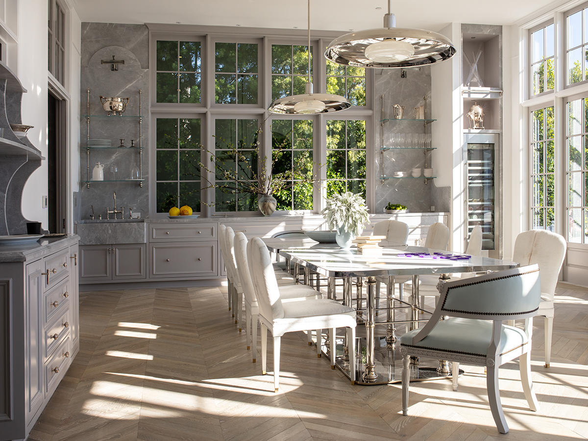 Table read: Windsor Smith and Jeff Andrews on how to specify dining chairs