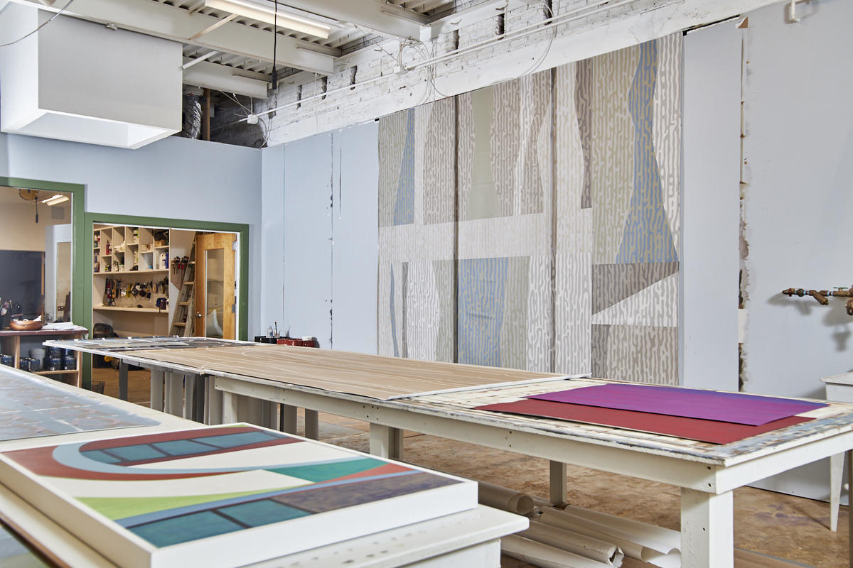 This wallcoverings designer wants art to have a life beyond a blank wall