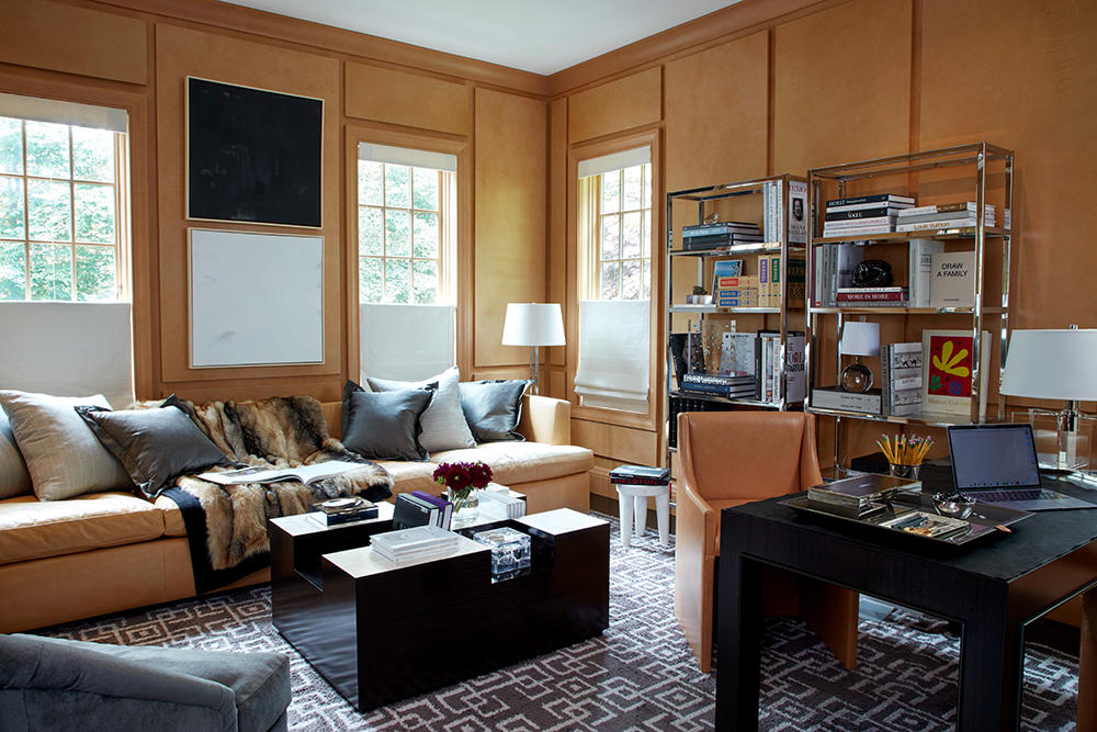 The office in the Westchester project