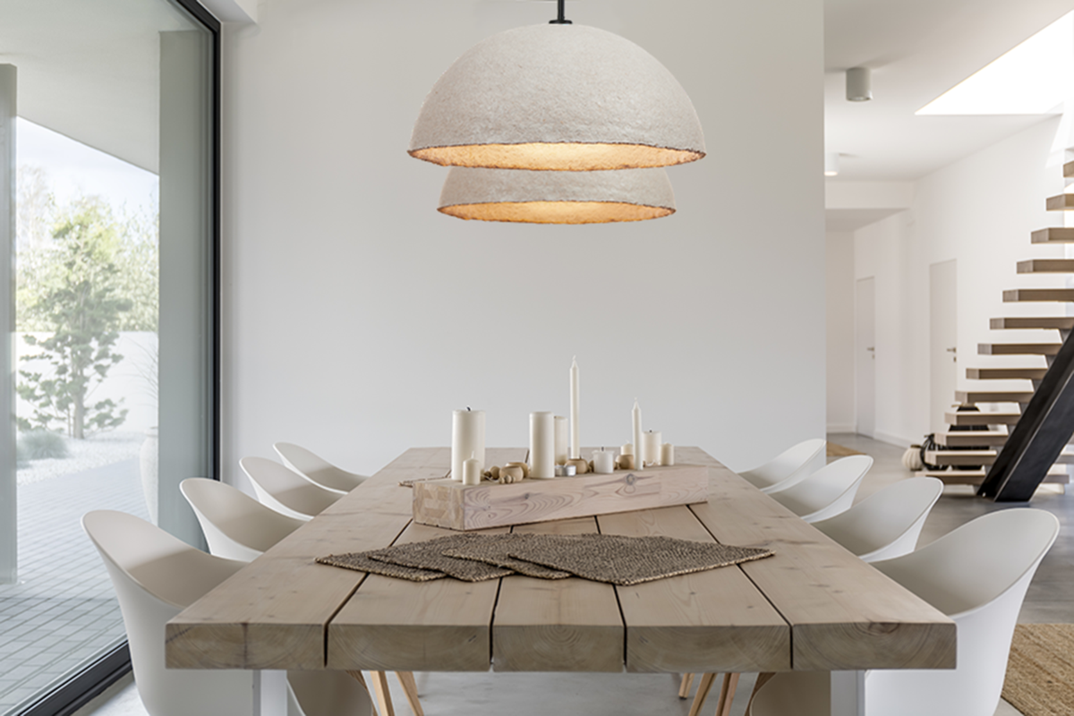 This designer is turning mushrooms into truly sustainable lighting solutions