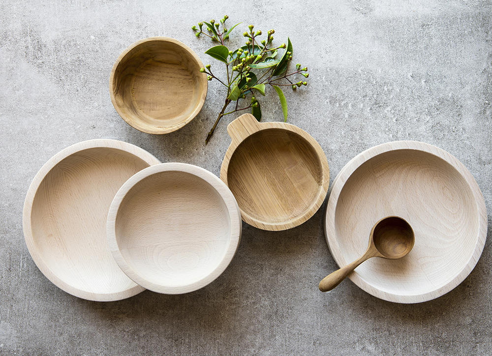 Wooden bowls from Craft & Forge