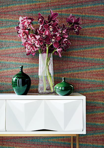 7 multicolored decor accents to create a kaleidoscopic focal point