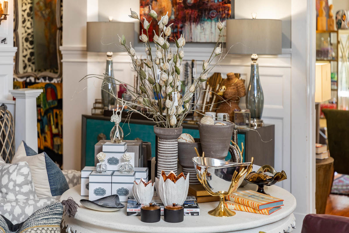 Kees Clendenon goes for a more eclectic vibe in her store.