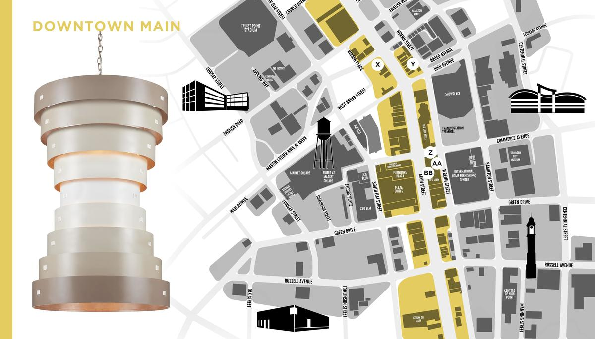 X marks the spot: A handy guide to getting around High Point Market