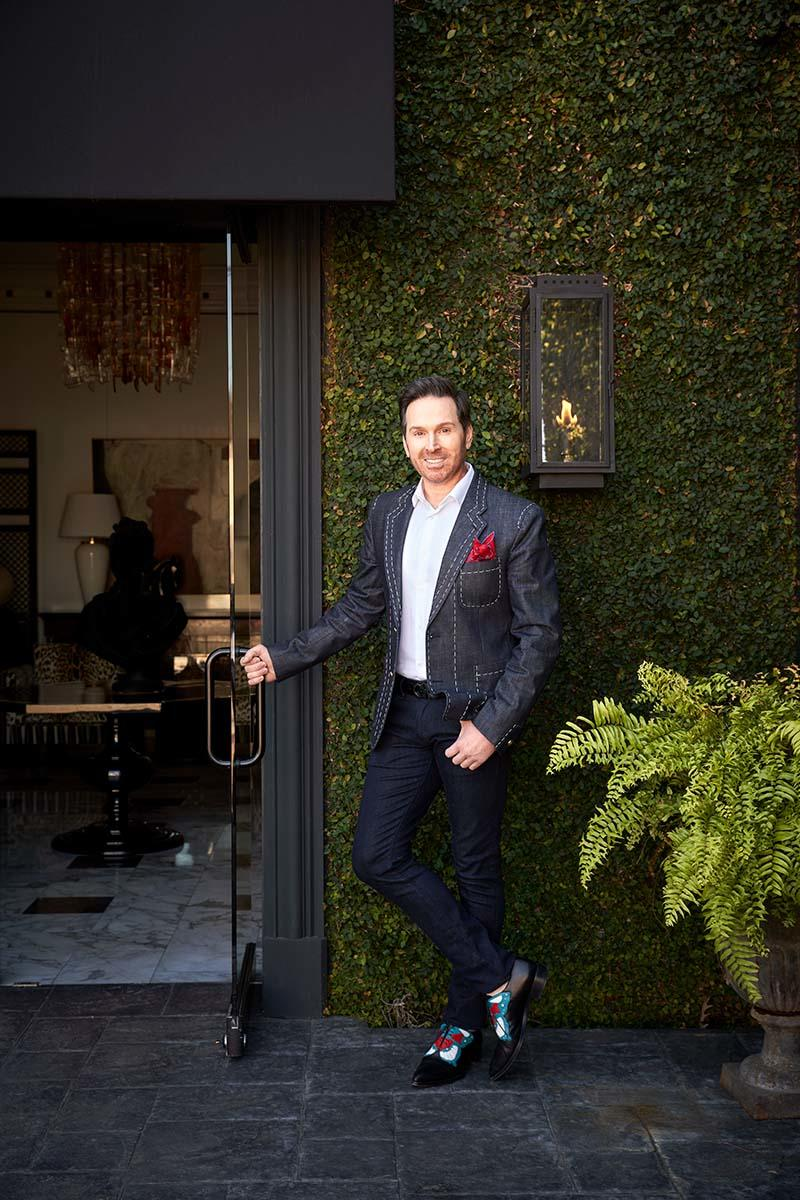 This 'frustrated set designer' opened the most dramatic design store in Houston