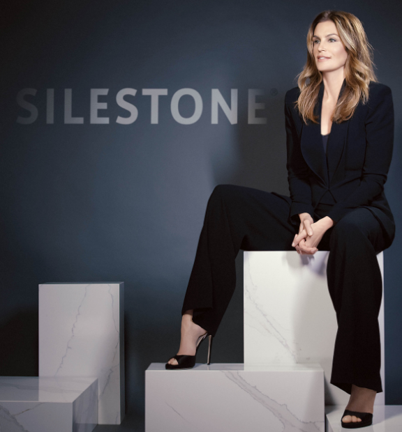 Cosentino names Cindy Crawford as new spokesperson