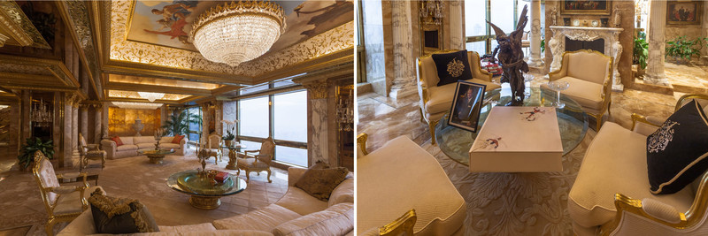 A look at Angelo Donghia's interiors work with President Trump