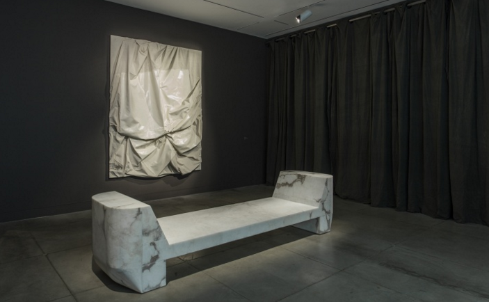 Rick Owens furniture is on view at MOCA
