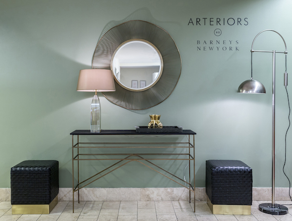 Arteriors opens in-store pop-up at Barneys