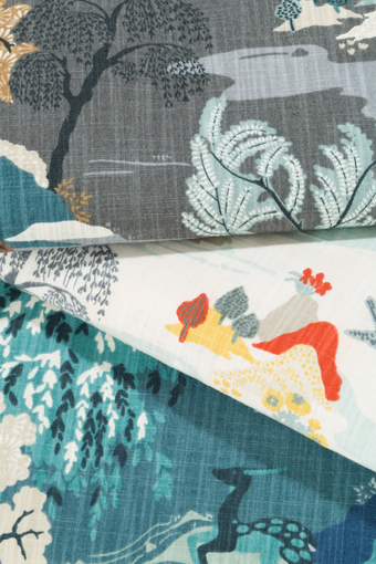 DwellStudio and Calico partner on fabric