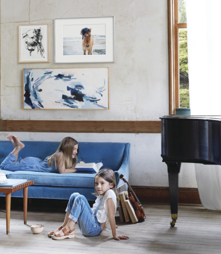 Minted debuts commissioned art and art styling