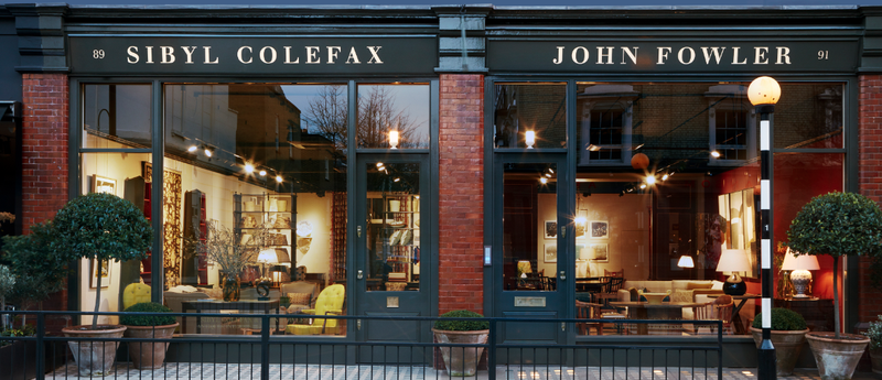 Sibyl Colefax & John Fowler moves London locale
