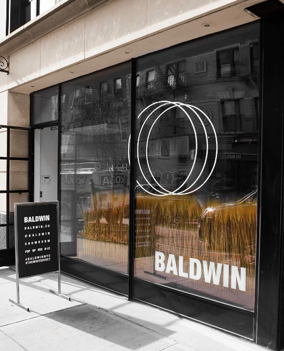 Behind pop-up collaboration between Baldwin and Hufft Projects