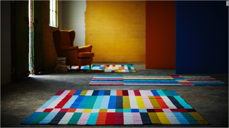 IKEA to sell rugs made by Syrian refugees