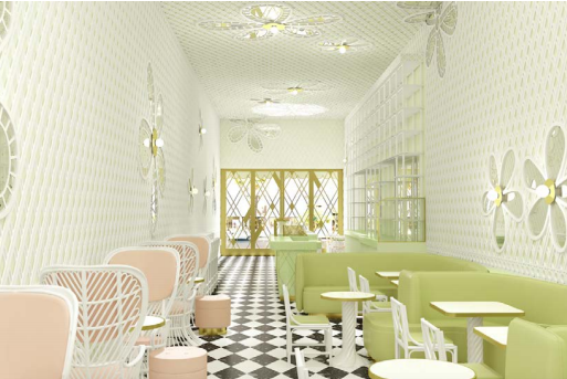 India Mahdavi unveils design for Laduree and Ralph Pucci