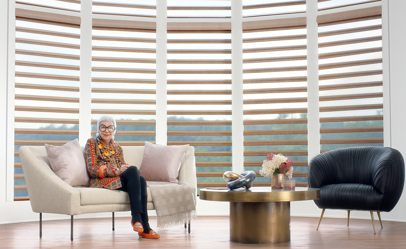 Hunter Douglas debuts ad campaign with Iris Apfel