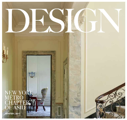 Inside the pages of DESIGN, ASID NY Metro's newly relaunched magazine