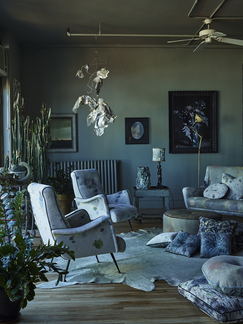Behind the product: Martyn Thompson's photo-inspired fabrics, tea sets and wallcoverings