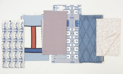 Schumacher debuts Frank Lloyd Wright fabric collection