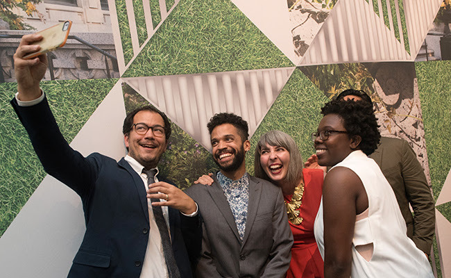 Last year's National Design Awards Gala; this year's will be celebrated October 19 at the museum's Arthur Ross Terrace and Garden