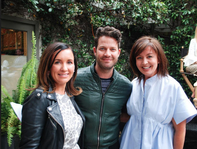 Lindsey Shook, Nake Berkus and Anna Brockway; courtesy Mugs Buckley