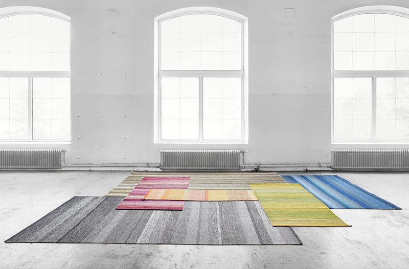 Kasthall's Harvest line of rugs debuted at ICFF