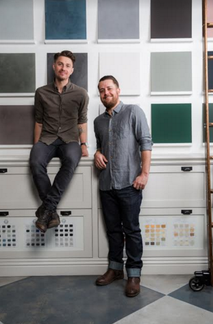 Jamie and Casey Davis, Portola Paints founders