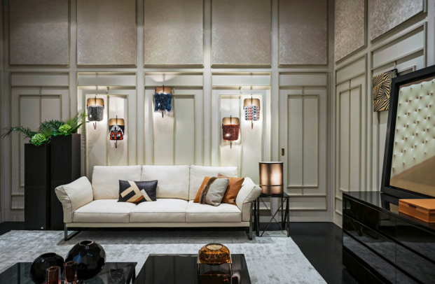 Behind the sofa: A look at Fendi Casa's latest
