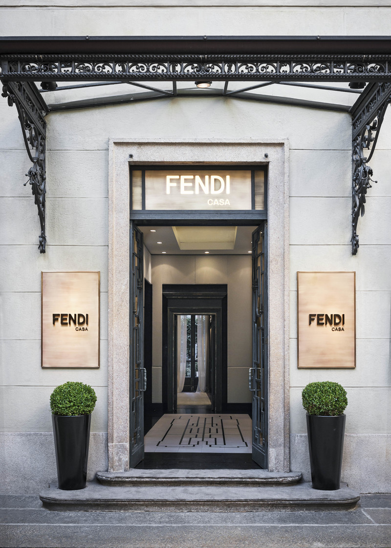 The new Fendi Casa flagship in Milan