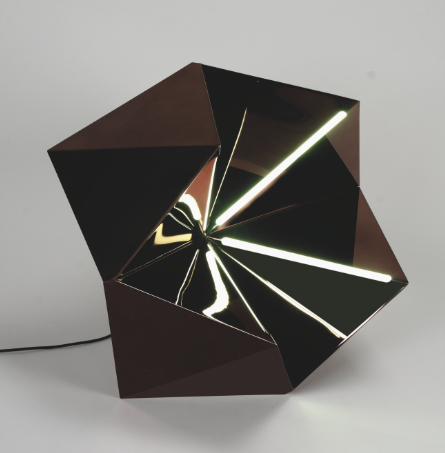 Sirius Lamp by designer Kaki Kroener; courtesy André Rives