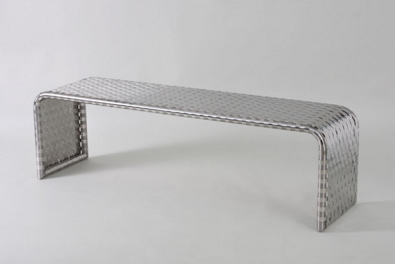 Bench by designer Nicolas Aubagnac; courtesy André Rives