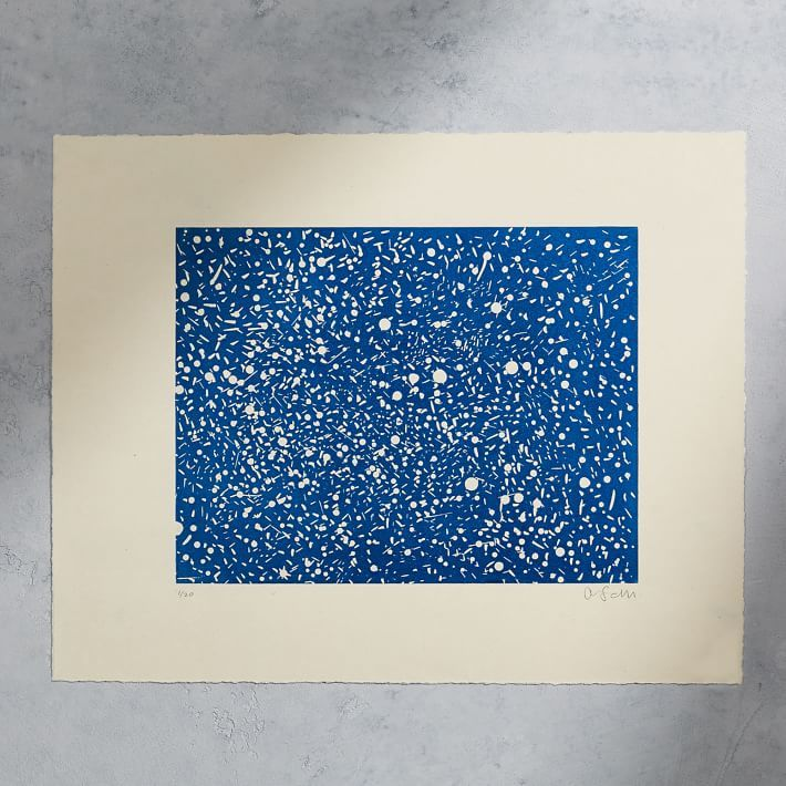 "Austin, Texas-based designer and artist Jack Sanders's limited edition print, ""West Texas Night Sky"""