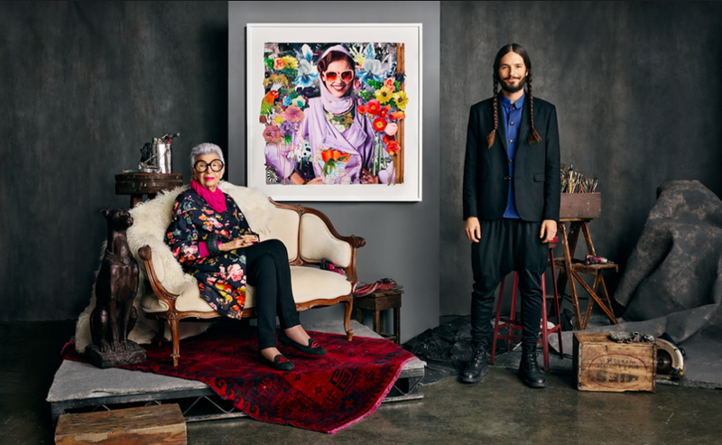 Iris Apfel and Twyla artist James Gortner