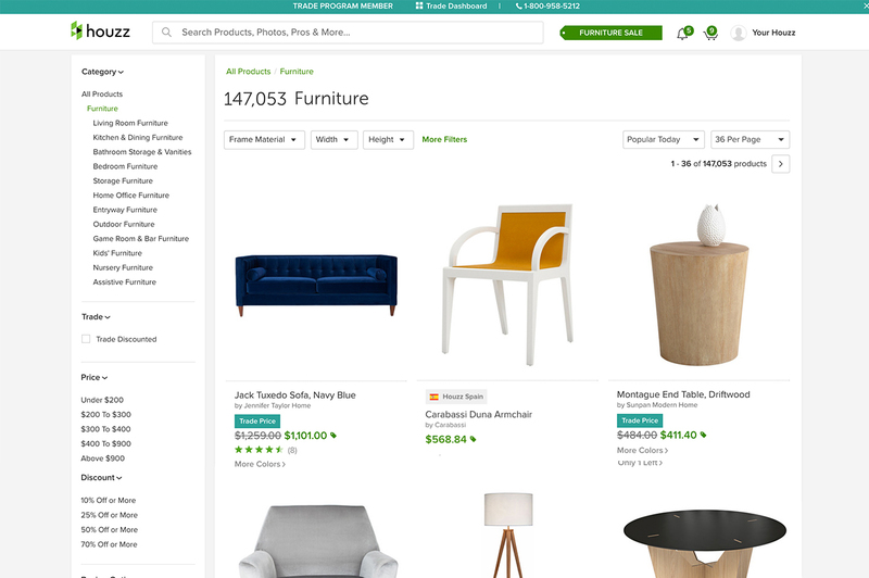Houzz's new trade tool
