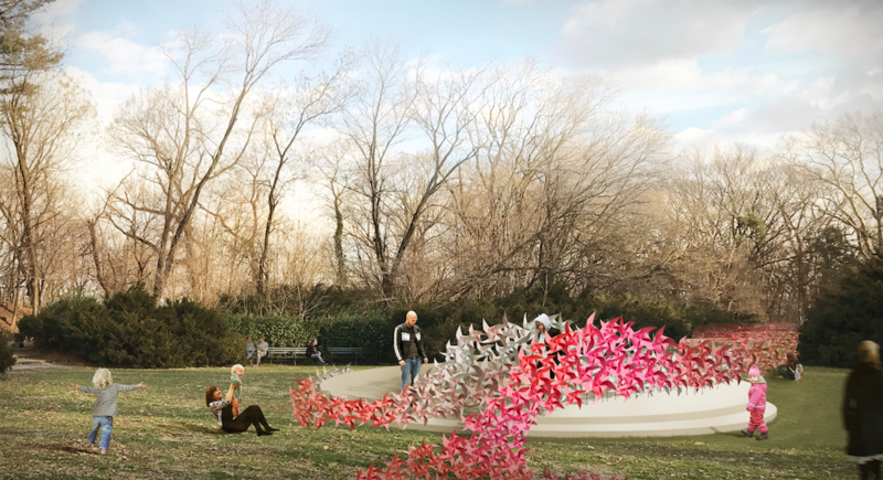 Architect Suchi Reddy designs innovative installation for Prospect Park