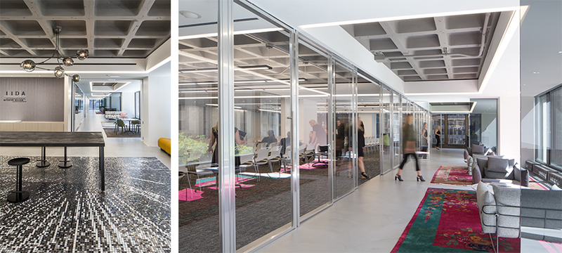 Inside the new headquarters; courtesy Michelle Litvin Studio