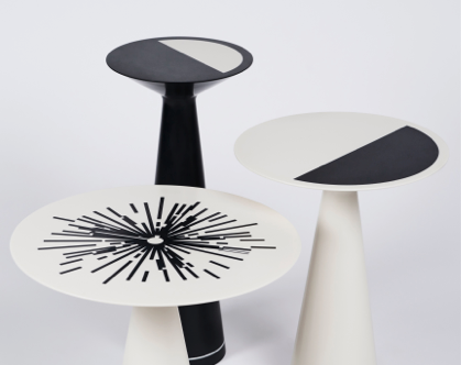 Sandra Nunnerly's three tables are available