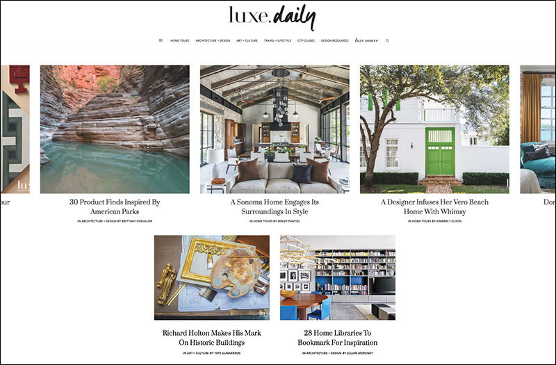 Luxe launches daily blog focused on design