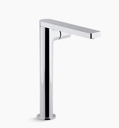 Kohler's Composed, tower single-handle bathroom sink faucet