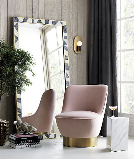 Simone Blush Chair
