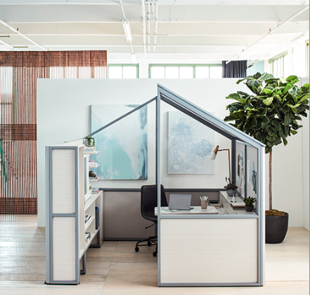 Haus from West Elm WORKSPACE with Inscape