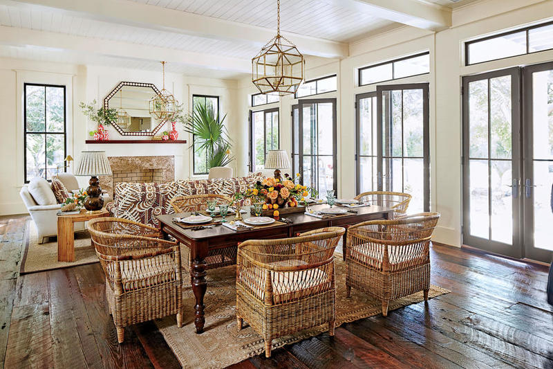 Dining Room, courtesy Laurey W. Glenn. Styling: Buffy Hargett Mille