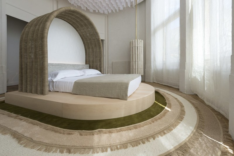 Bedroom by Emmanuelle Simon; courtesy Architectural Digest