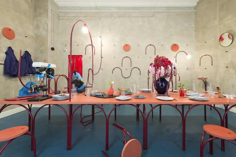 Dining room by Martial Marquet; courtesy Lothaire Hucki