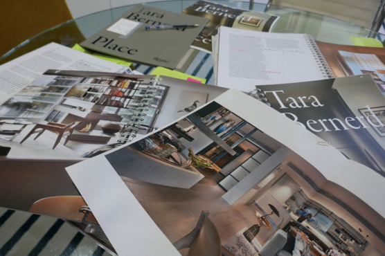 How do you create your first coffee table book? Designer Tara Bernerd finds out