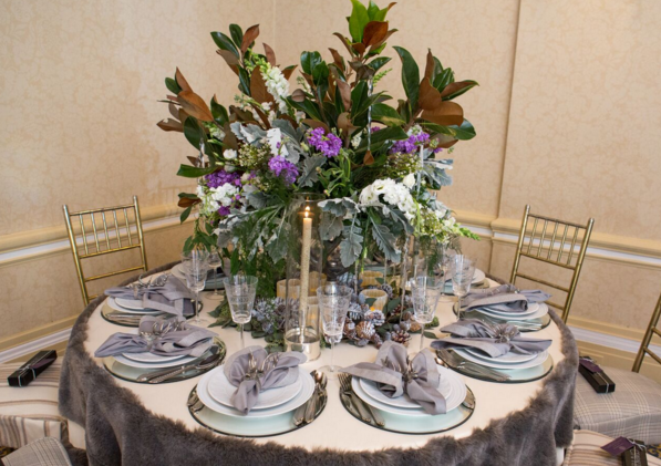 Tablescape by A-List Interiors at last year's Hope Lodge fundraiser