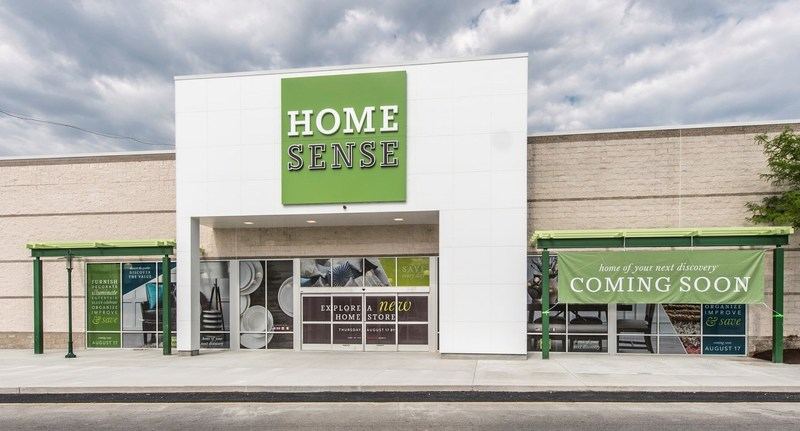 The first Homesense store opened in mid-August, in Framingham, Massachusetts